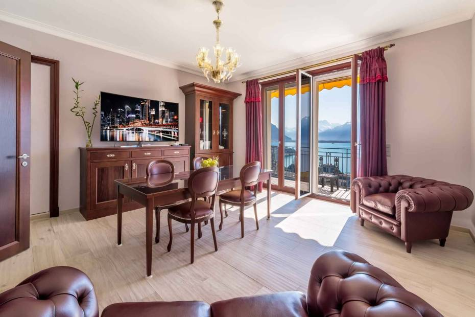 Magnifique appartement de 5.5 pièces dans une résidence de prestige à vendre au centre de Montreux