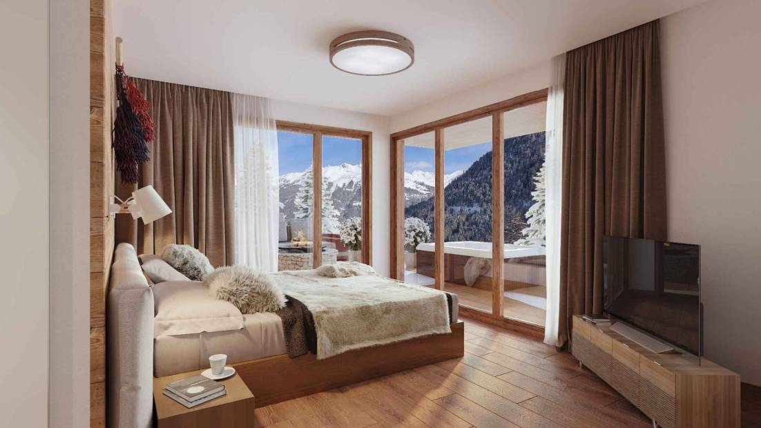 Les Rahâs II – Fully managed duplex Alpine apartment