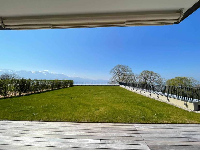 New 4.5-room apartment with terrace/garden and panoramic view of the lake – Les Terrasses de Lavaux – Residential and sport complex