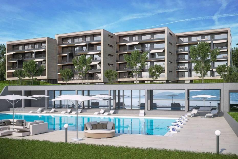 Appartement neuf de 4.5 pièces au rez-de-chaussée avec jardin privatif à vendre à Chexbres